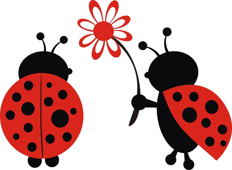 free cartoon ladybug clipart - photo #38