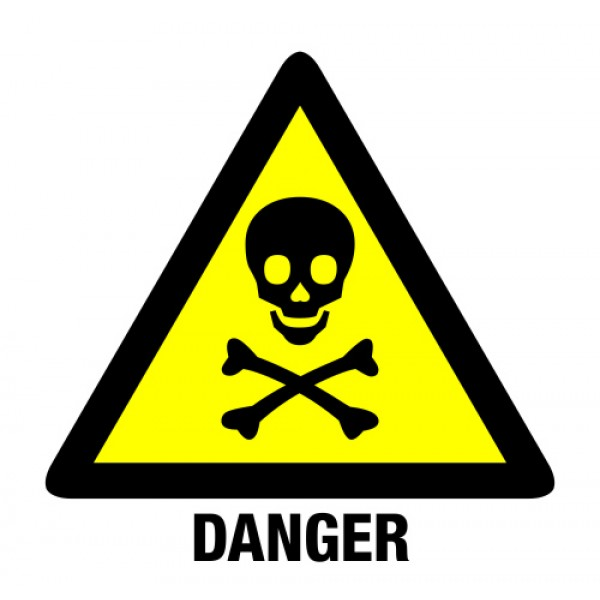 danger sign skull   clipart best   clipart best