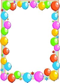 Birthday Border Images - ClipArt Best