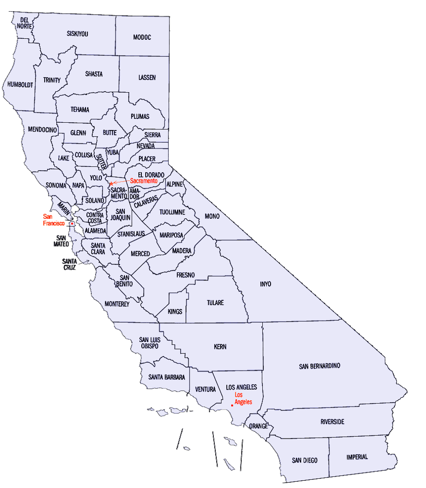 California Map Clip Art - ClipArt Best
