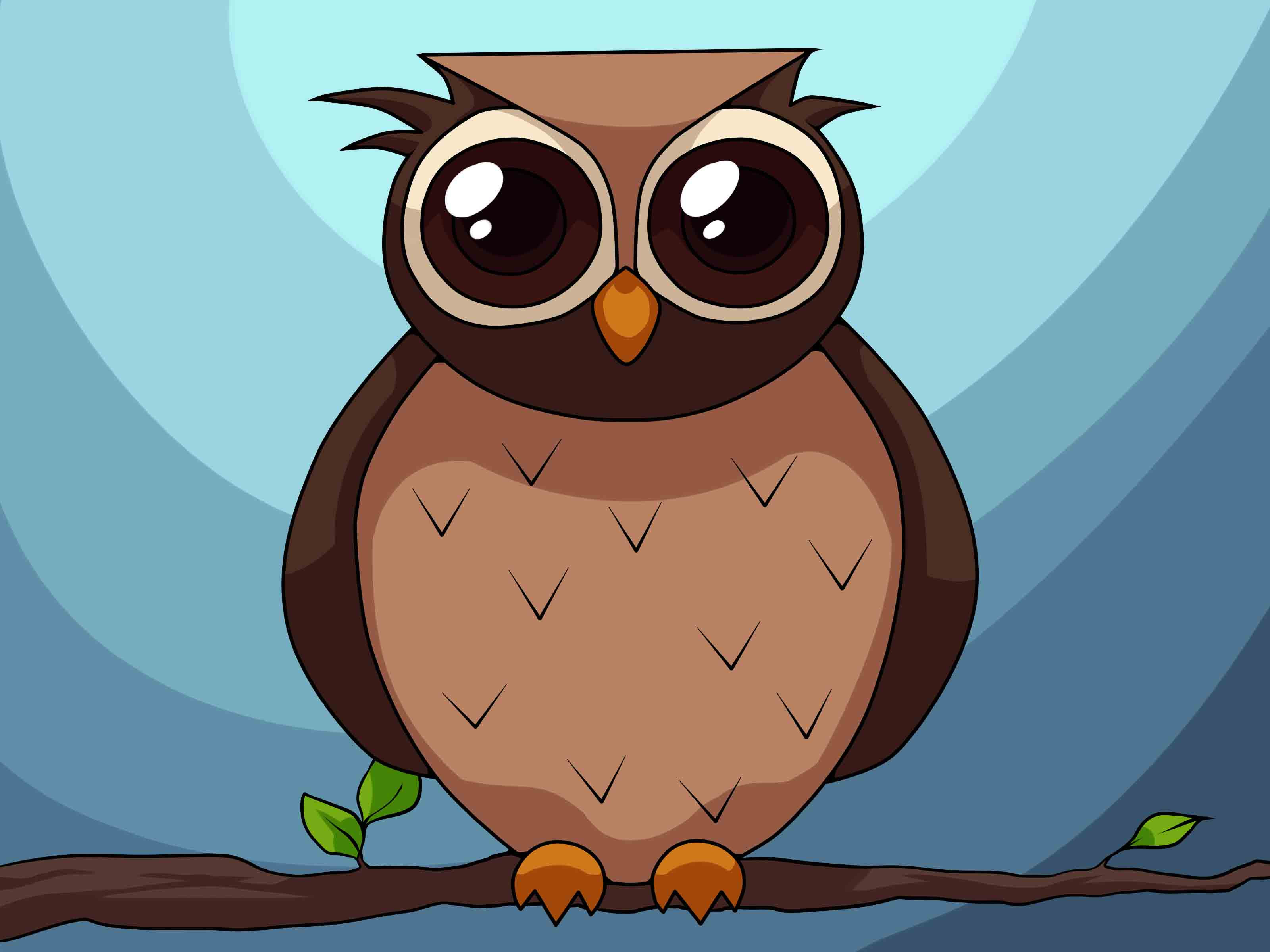 Cartoon Owl For Kids ClipArt Best