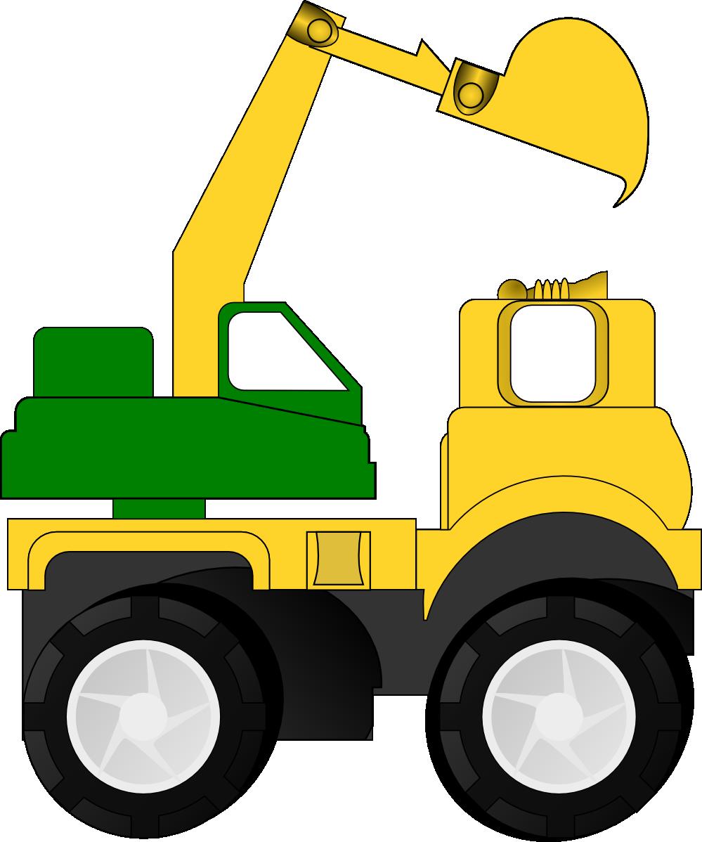 yellow truck clipart - photo #36