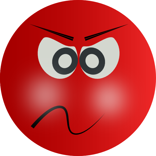 Red Mad Face Clipart Best