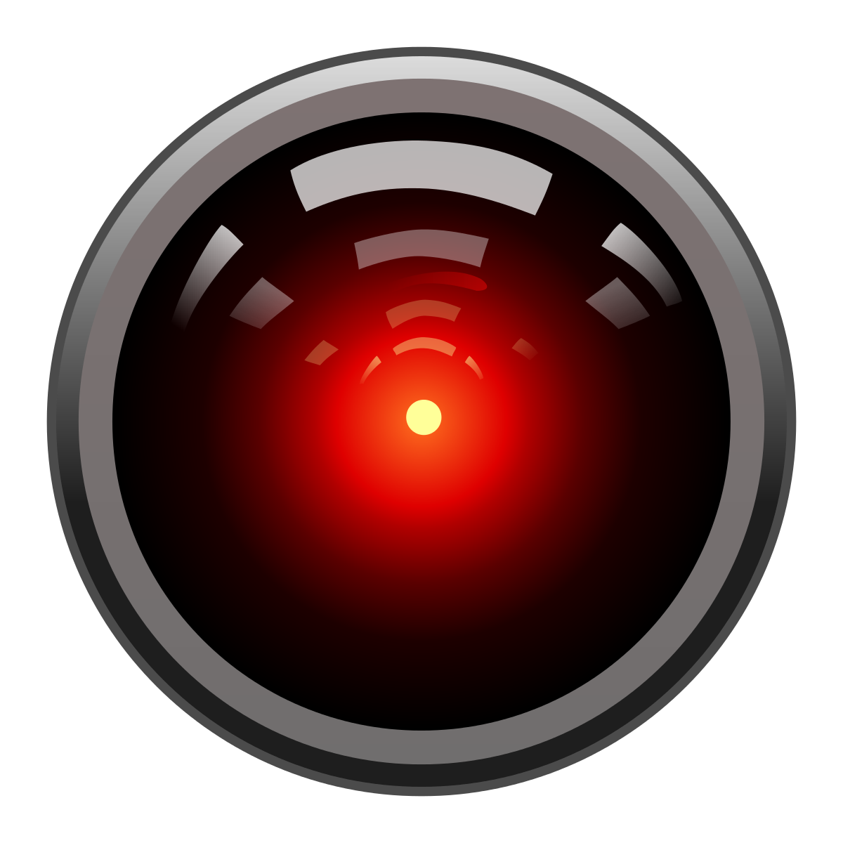 Hal 9000 Icon - ClipArt Best