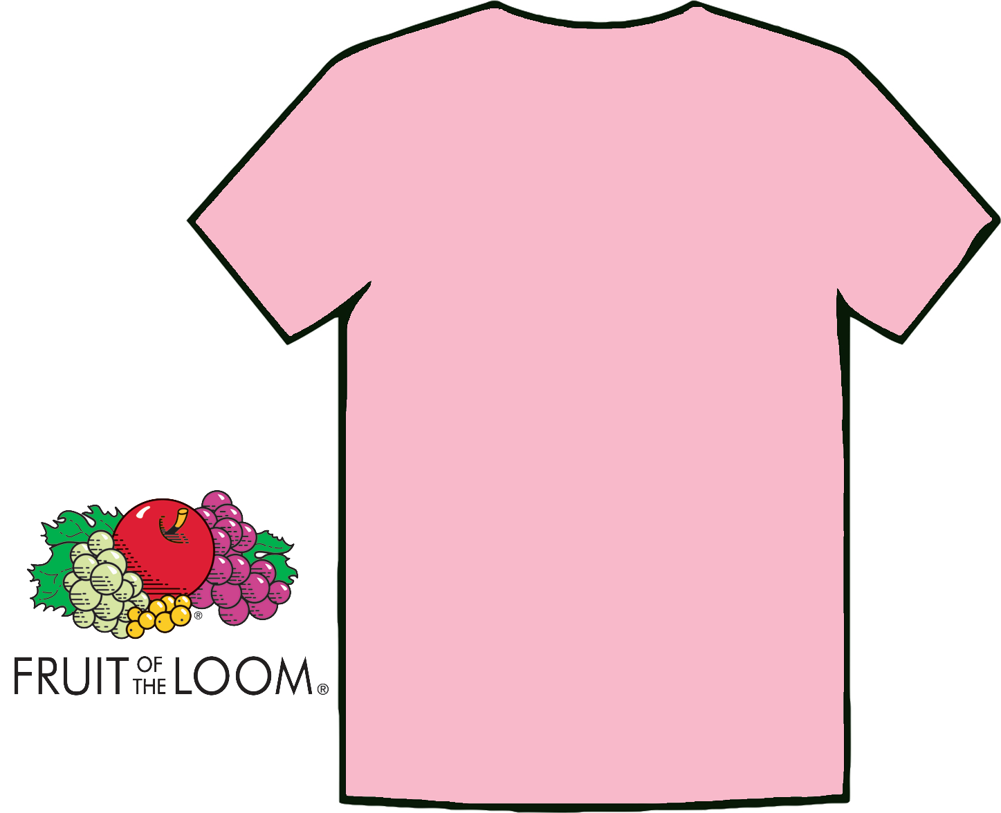 light pink t-shirt template . Free cliparts that you can download to ...