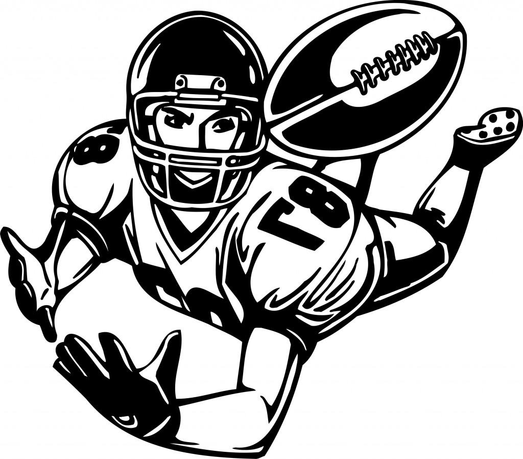 animated clip art of football - photo #18