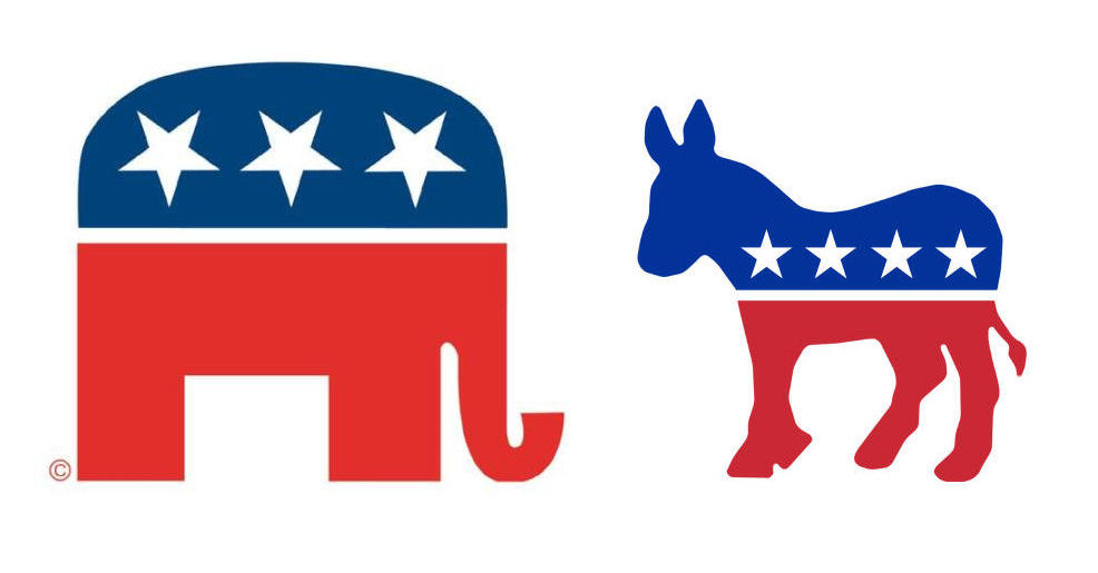 Political logos: The origin of the Republicans' elephant and the ...