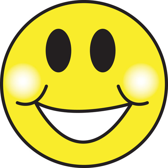 Current image pertaining to happy face printable