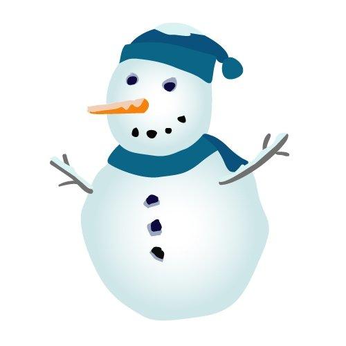 Snow Man - ClipArt Best