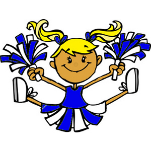 Image result for free clipart cheerleader
