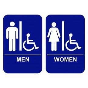 Restroom Signs Men Women Transgender Handicap Custom Signs