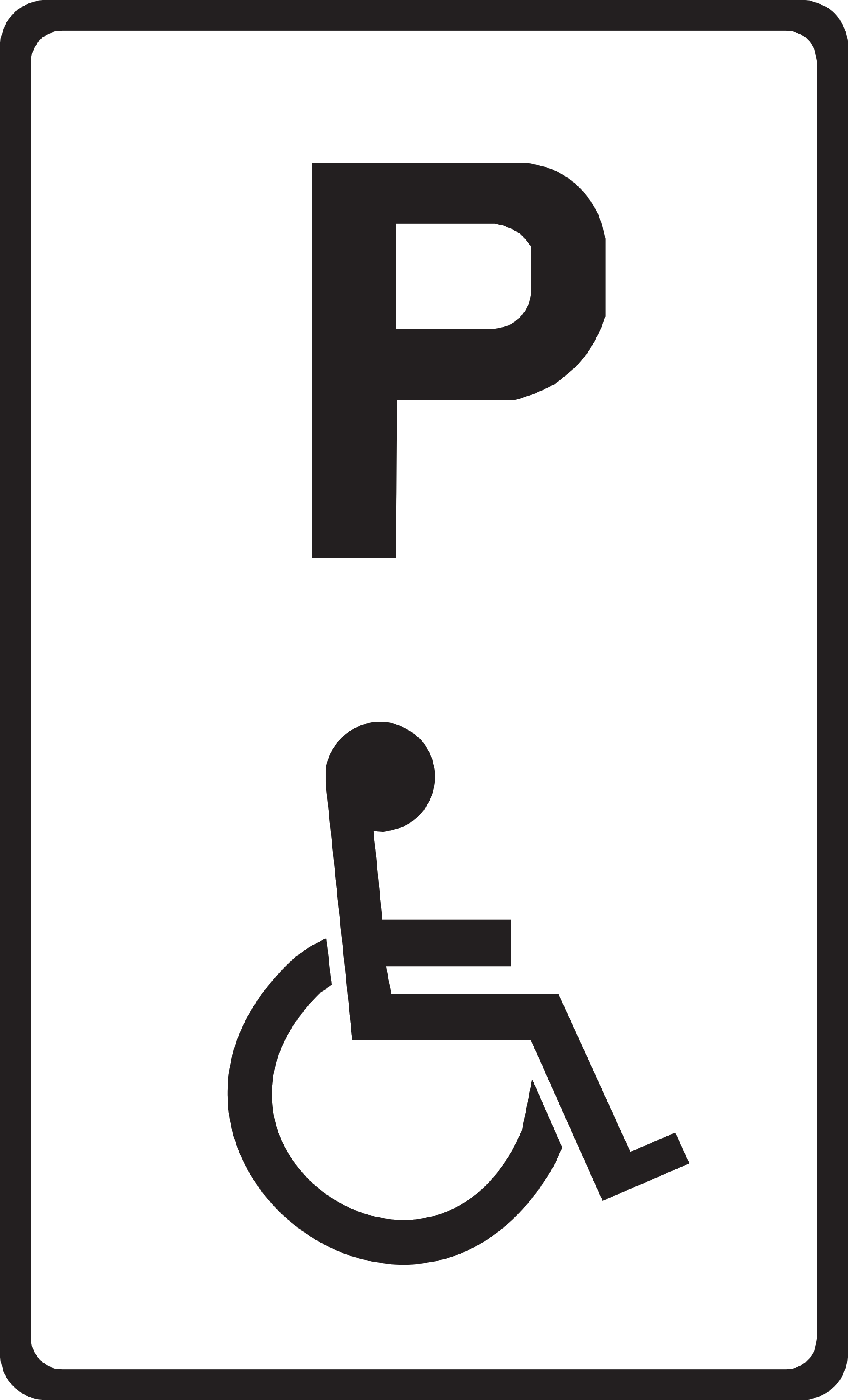 - Disabled Parking Signs - ClipArt Best