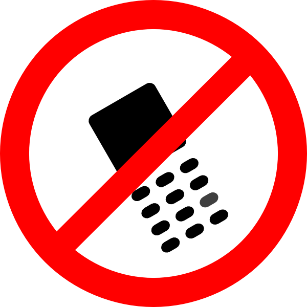 It is a picture of Amazing No Cell Phone Sign Printable