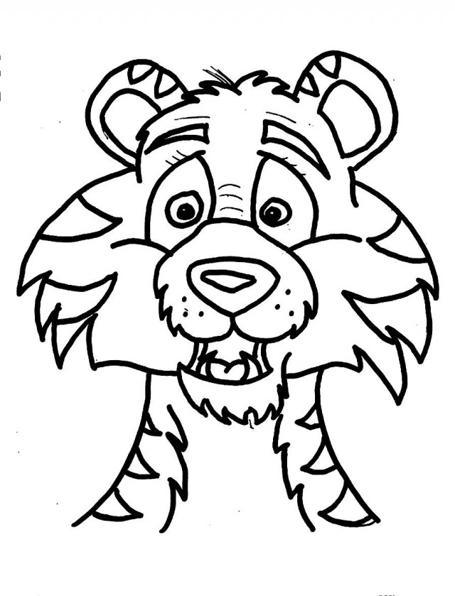 coloring pages of tiggers face - photo#9