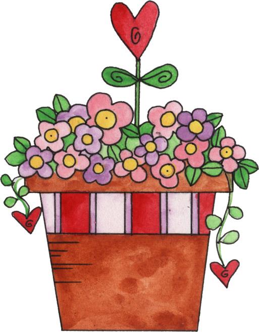 Bouquet Of Flower Clip Art - ClipArt Best