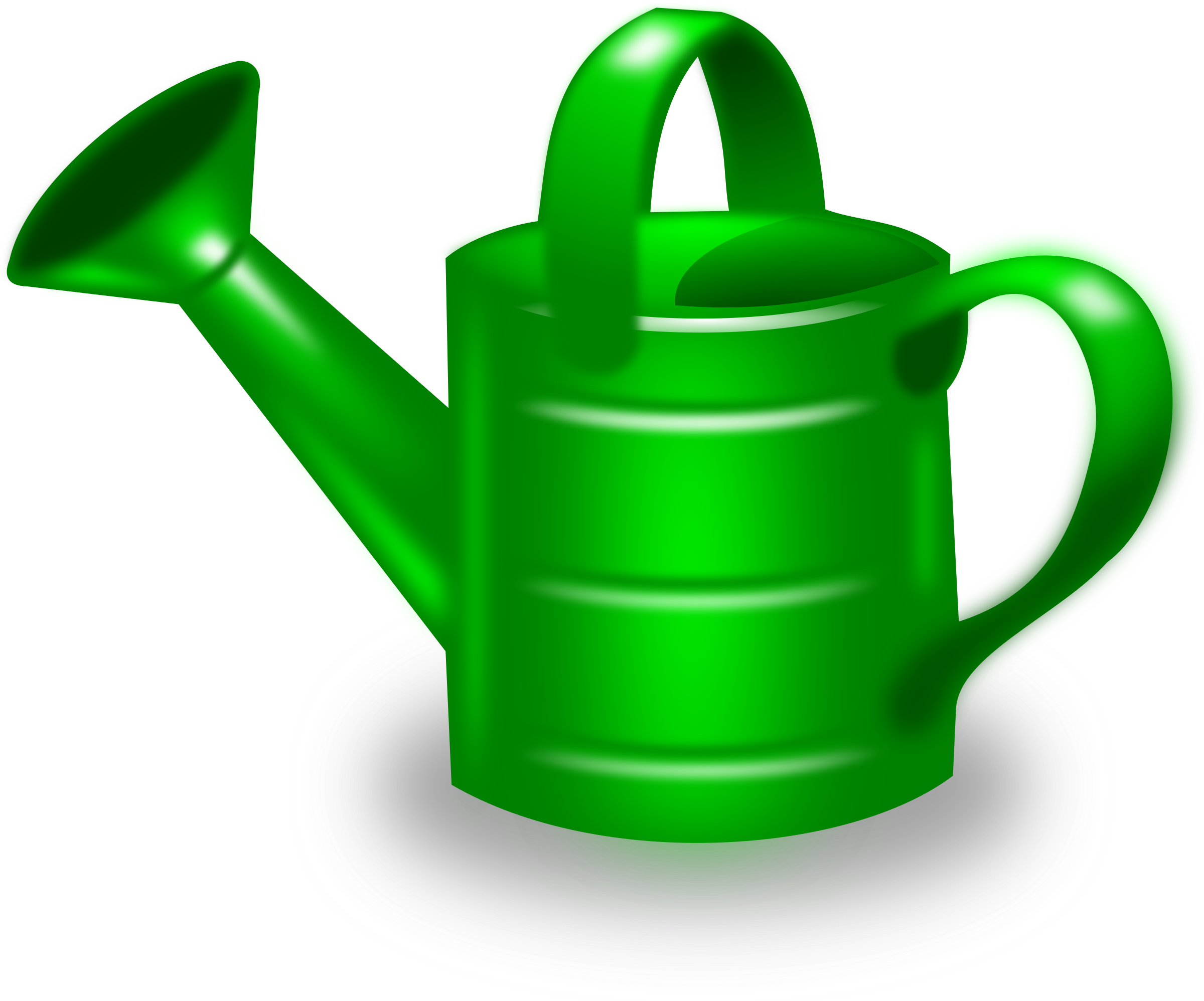 Clipart watering can clipart best - Sprinkling cans ...