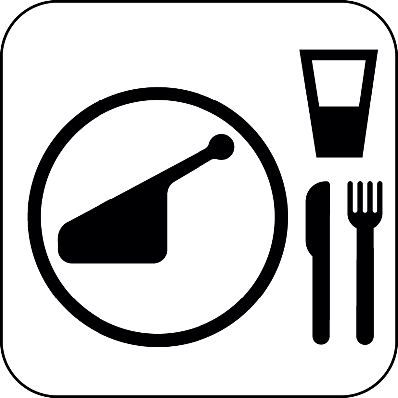 restaurant symbols clip art - photo #6