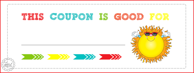 Printable Babysitting Coupon - ClipArt Best