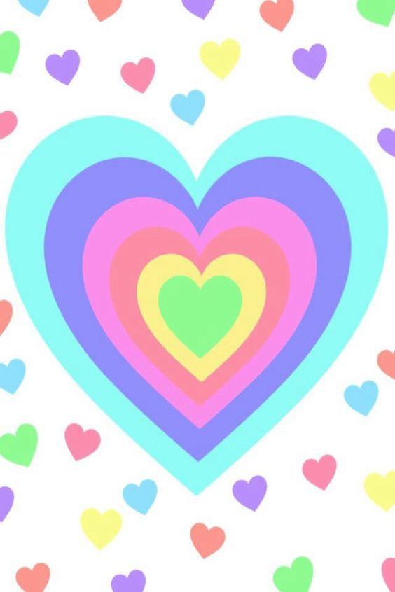 Wallpaper Hot Pink Hearts - ClipArt Best