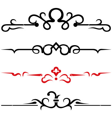 Simple Calligraphy Border Designs Clipart Best