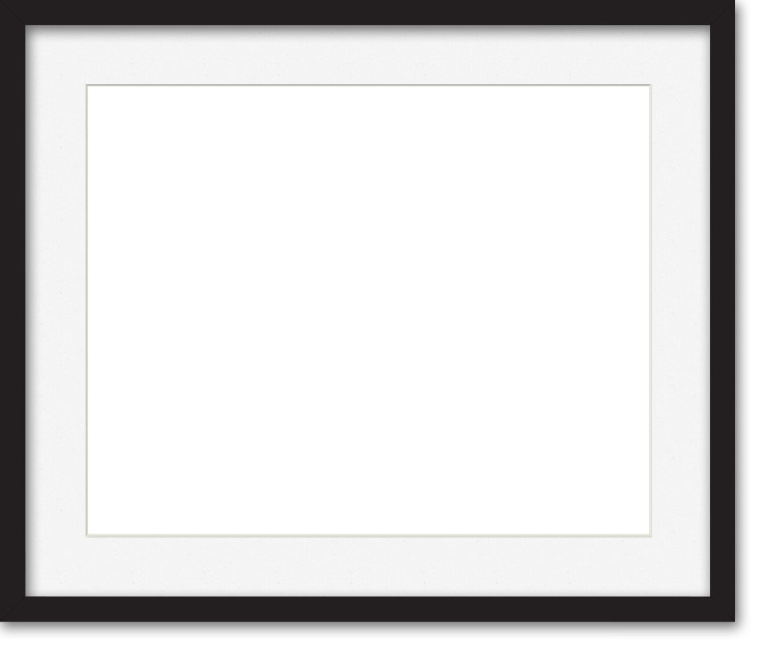 Can I Paint A Matte For A Picture Frame