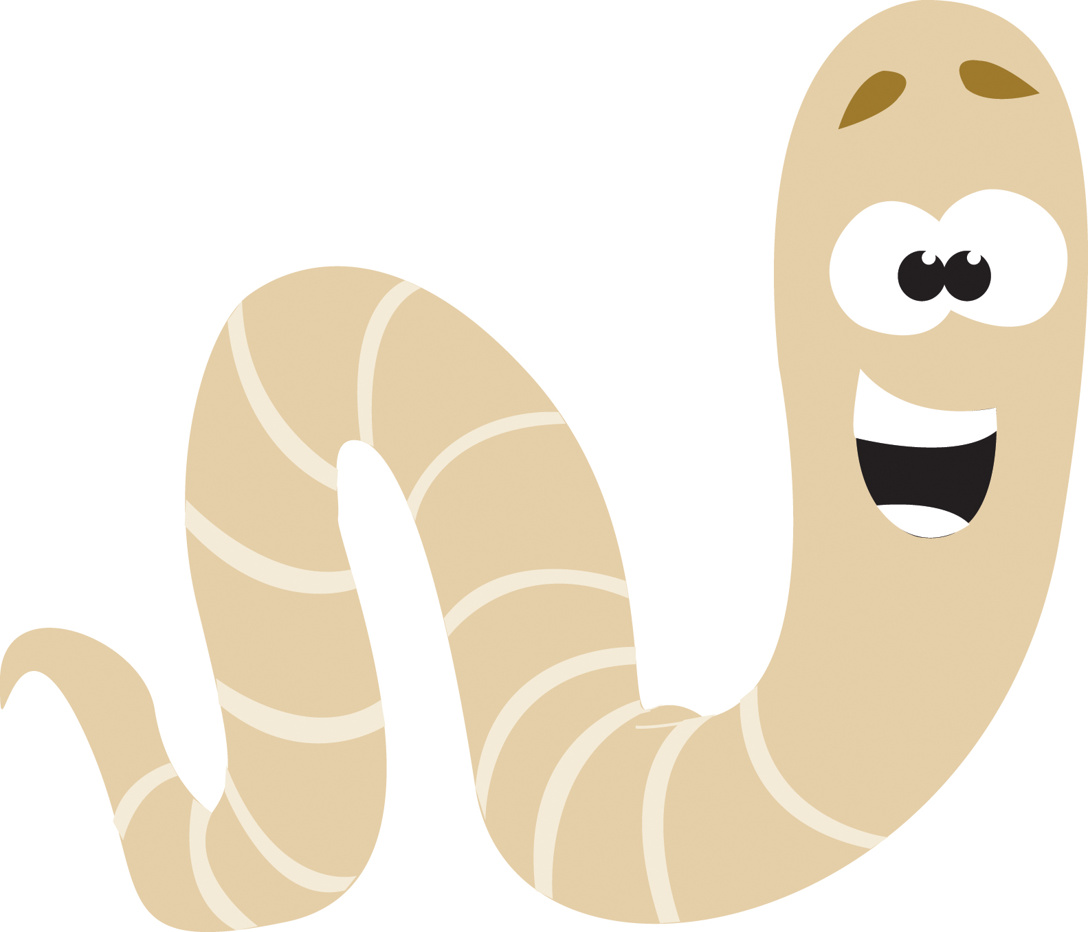 cartoon worms clip art - photo #21