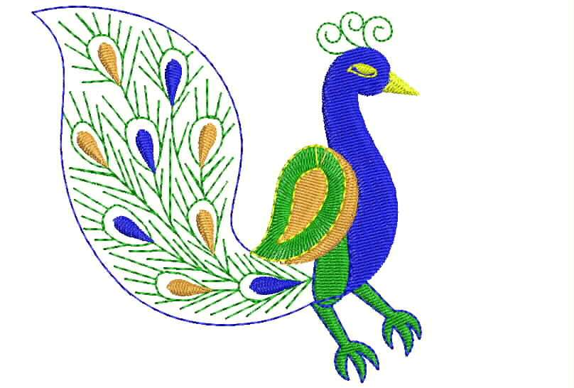 Simple Peacock Designs  ClipArt Best