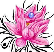 Pink carnations tattoo