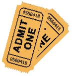 Movie Ticket Clipart | Joy Studio Design Gallery - Best Design
