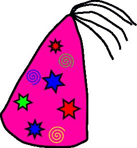 Party Hat clip art - vector clip art online, royalty free & public ...