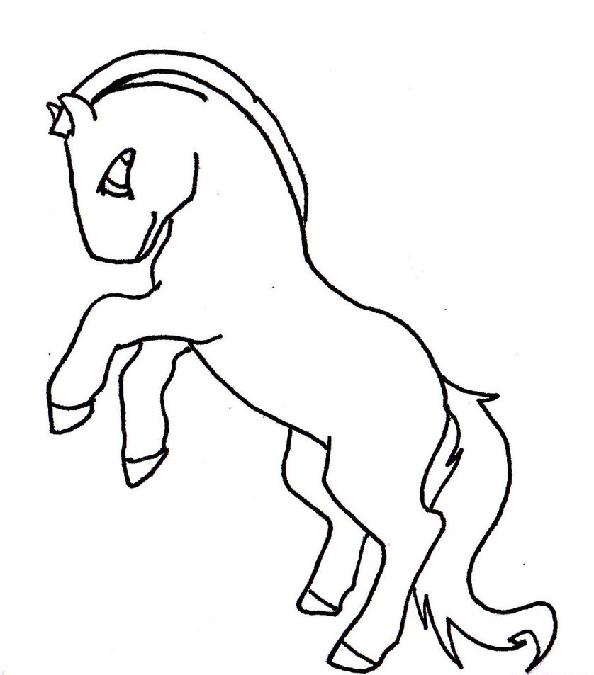 Unicorn Fox Coloring Pages