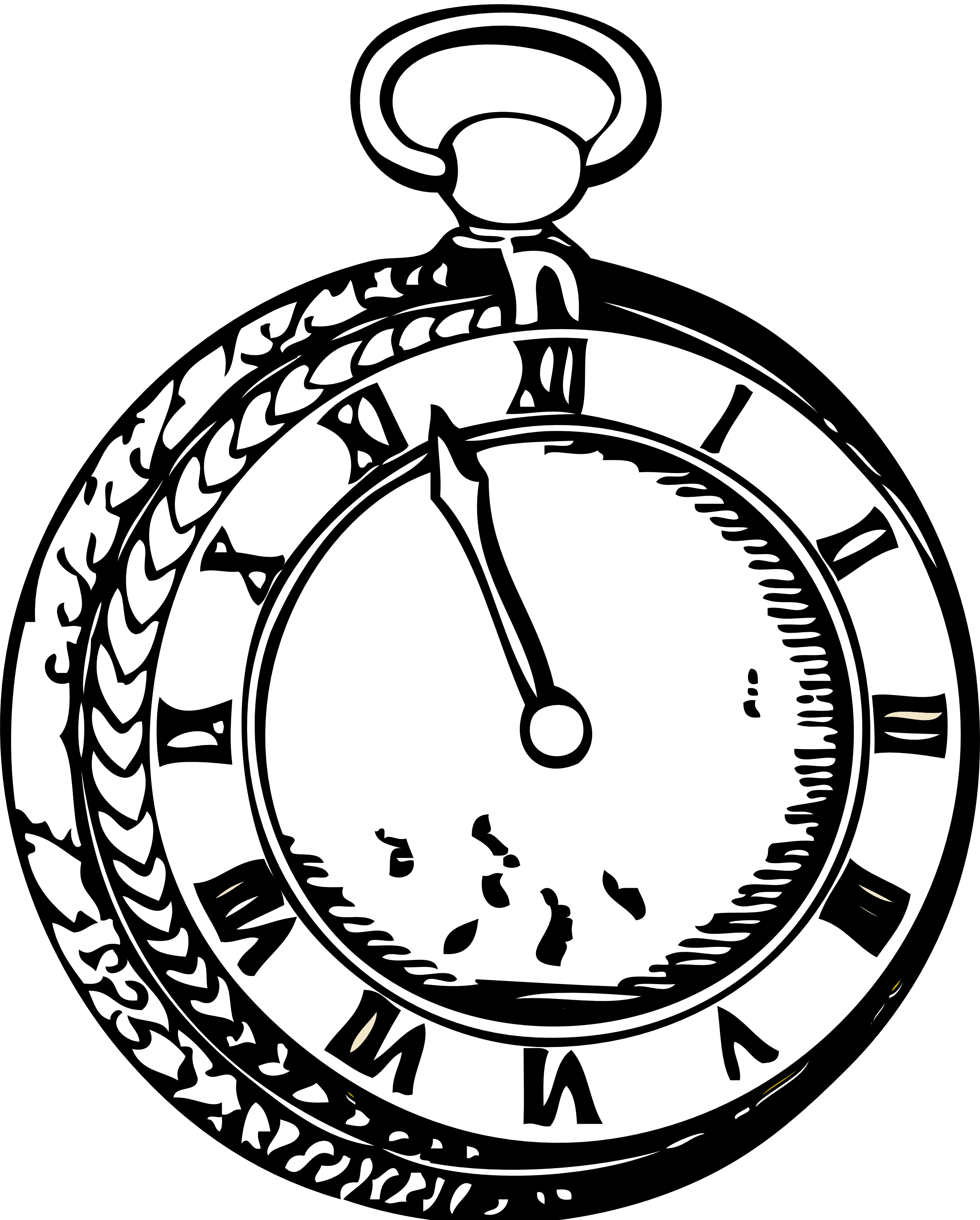 Pocket Watch Drawings: Pocket Watch Drawing
