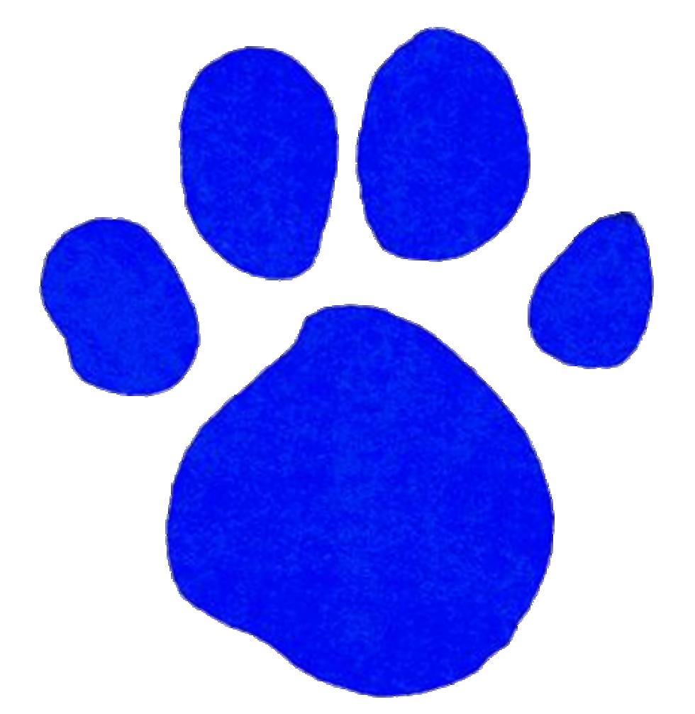 blue clues pawprint clipart best