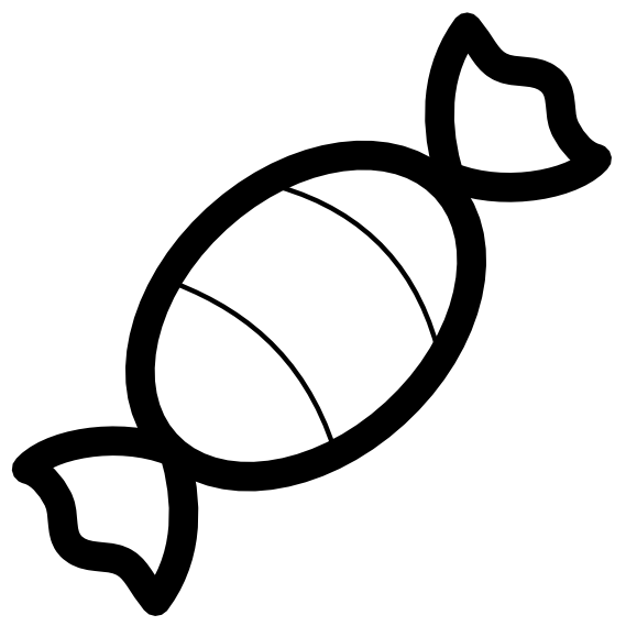 Lollipops Clipart Black And White Pitr candy icon black white