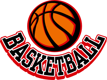red basketball   clipart best
