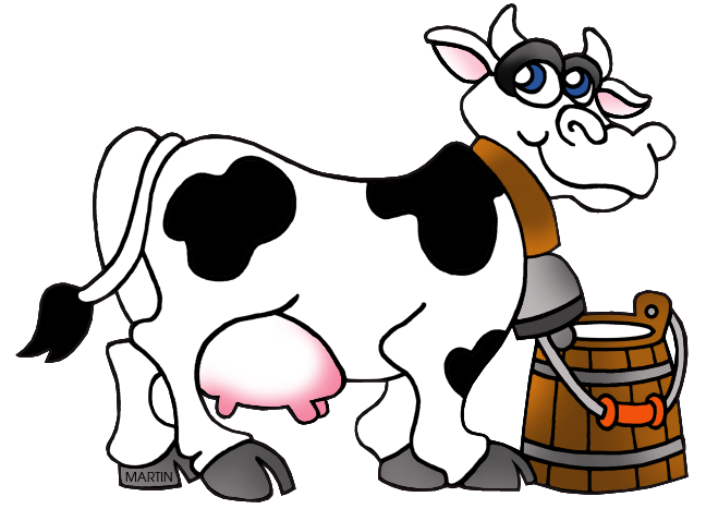 Milk Cow Clipart - ClipArt Best Cartoon Cow Png