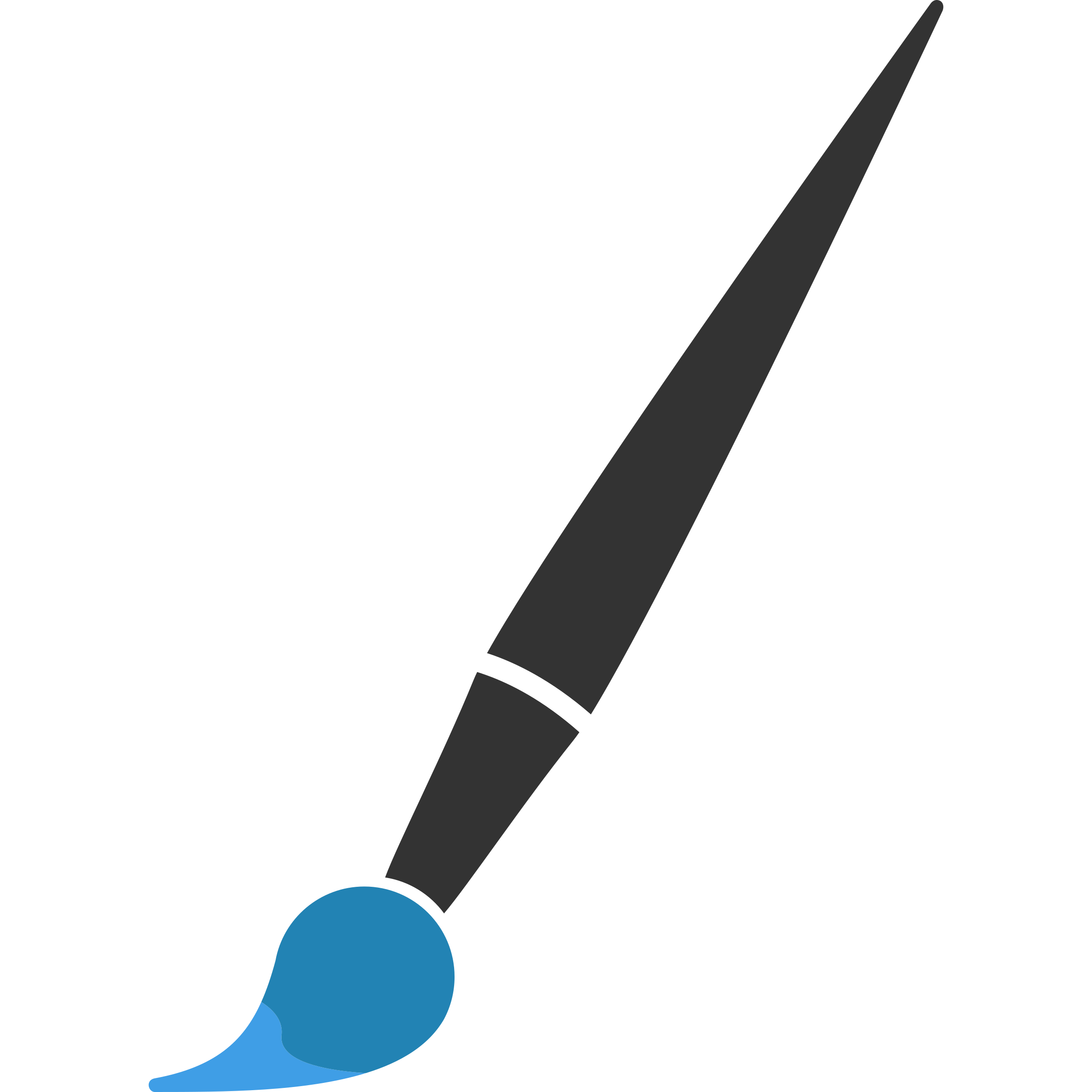 Clipart - Minimalist Paint Brush