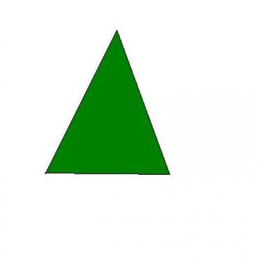 Triangle shaped