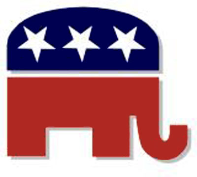 Did you ever notice that the stars on the RNC logo are upside down ...
