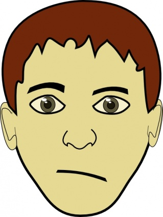 Clip Art Clip Art Faces free clip art faces clipart best brown hair boy face download other vectors