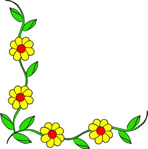 Hawaiian page borders clipart best for Free garden border designs