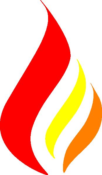 Candle Flame Logo clip art - vector clip art online ...