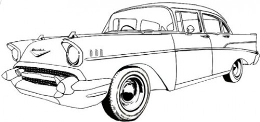 Line Drawing Vehicles : Pics of car drawings clipart best