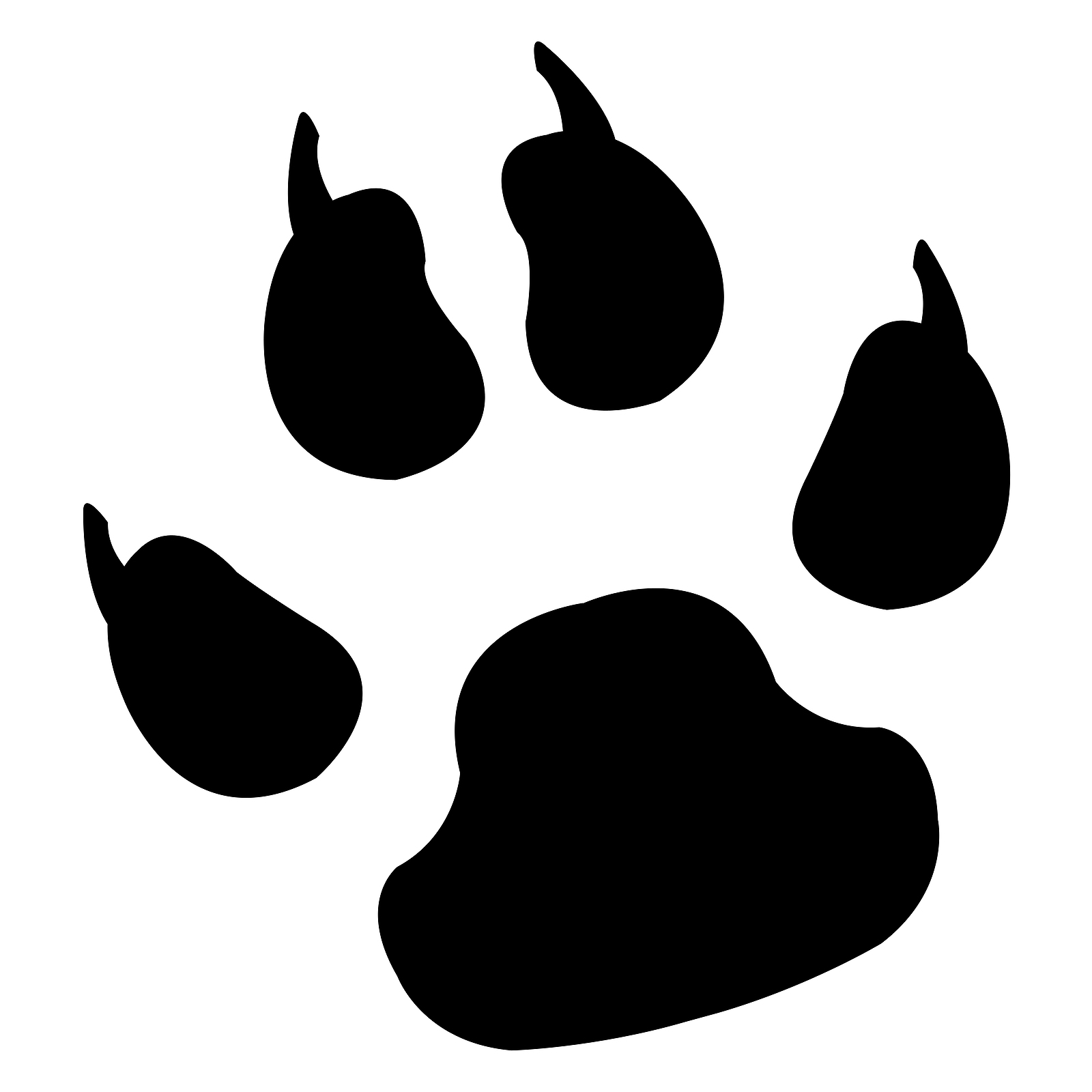Dog Paw Logo - ClipArt Best