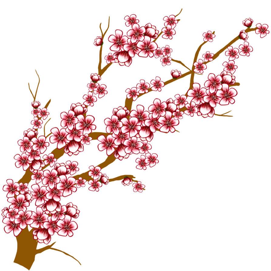 Flowers blossom clips art