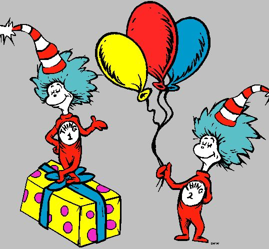 Thing 1 And Thing 2 Printable Clip Art - ClipArt Best
