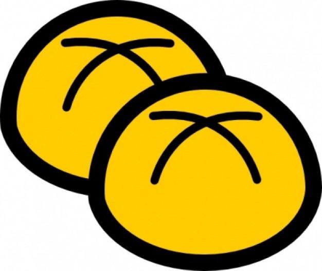 Bakery Buns clip art | Download free Vector