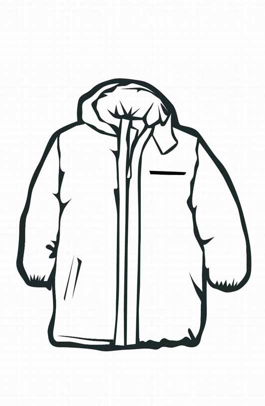 Winter Coat Clip Art - ClipArt Best