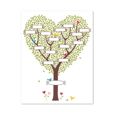 Генеалогическое дерево рисунок