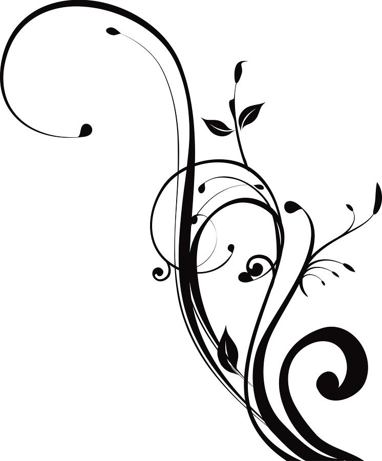 Black Swirl Design Png Black Swirl Design Swirl